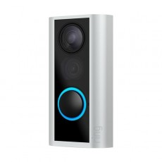 Ring DoorView Cam - Quick release Rechargeable Battery powered Wi-Fi doorbell Security Camera
