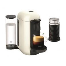 Nespresso VertuoLine Coffee & Espresso Maker with Aeroccino Plus Milk Frother - White