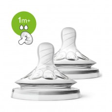 Philips Avent Natural 2.0 Feeding Teats For 1 months+ – 2 Pcs