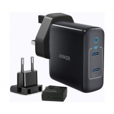 Anker A2033H11 PowerPort III 2-Port 60W Charger - Black