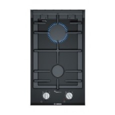 Bosch 30CM Hard Glass Gas Cooking Hob (PRB3A6D70M) - Stainless Steel