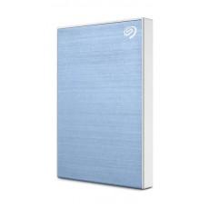 Seagate 1TB Backup Plus Slim USB 3.0 External Hard Drive - Blue