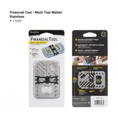 Nite Ize Multi Tool Wallet (FMT2-01-R7) - Stainless 1st view