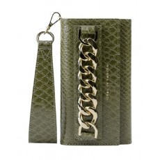 Ideal Of Sweden Studio Cloth iPhone 12 Pro Max Case - Green Snake