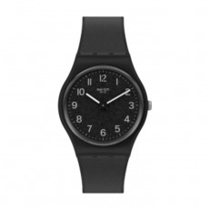 Swatch Quartz Analog 34mm Rubber Unisex Watch (SWAGB326)