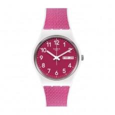 Swatch Quartz Analog 34mm Rubber Unisex Watch (SWAGW713)