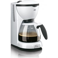 The Braun CaféHouse Pure Aroma Coffe Maker (KF520) - White