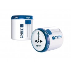Travel Blue Twist & Slide Worldwide Travel Adaptor - World Edition