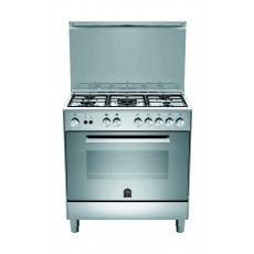 Lagermania 80x50 cm 5-Burner Floor Standing Gas Cooker (TU85C30DX)