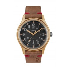 Timex 40mm Gents Leather Analog Watch (TW2R96700) - Brown