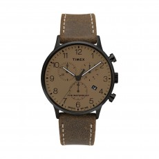 Timex 40mm Indiglo Analog Leather Gents Watch (TW2T28300)