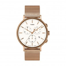 Timex Indiglo 41mm Analog Unisex Metal Watch (TW2T37200)
