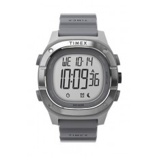 Timex 40mm Gent's Rubber Digital Watch (TW5M35600) - Grey