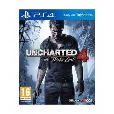 Uncharted 4: A Thief's End - Standard Edition - PlayStation 4 Game