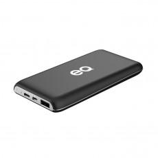 EQ 10,000mAh Powerbank - Black