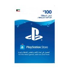 PlayStation Wallet Top-Up - ($100)