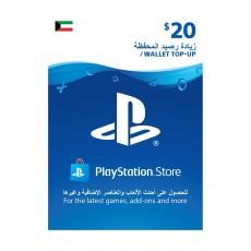 PlayStation Wallet Top-Up - ($20)