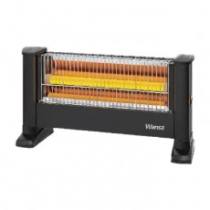 Wansa 900W Halogen Electric Heater - EH-0900-1H-S