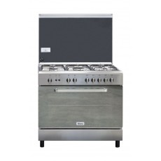 Wansa 90x60cm 5-Burner Floor Standing Gas Cooker (WCI9502214XA) – Stainless Steel