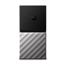 WD 256GB My Passport USB 3.1 Portable Hard Drive - Silver