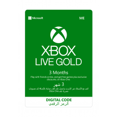 Microsoft Xbox Gold - (3 Month)