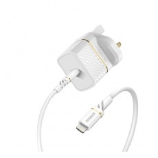 Otterbox 20W Wall Charger and USB-C to Lightening Cable (78-80482) - White