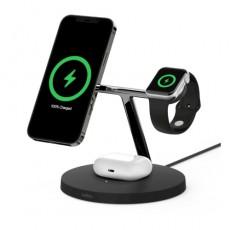 Belkin MagSafe 15W 3-in-1 Wireless Charger - Black