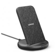 Anker PowerWave 15W Wireless Charging Stand - Black Fabric