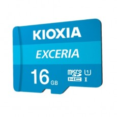 KIOXIA EXCERIA MicroSD 16GB Card – (LMEX1L016GG2)
