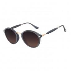 Chilli Beans Round Black Sunglasses - OCCL1677