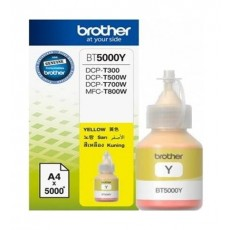 BROTHER Ink BT5000Y for Inkjet Printing 5000 Page Yield - Yellow (Single Colour Pack)
