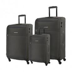 Kamiliant Zaka 3 Sets Soft Luggage (59+69+80cm) - Grey