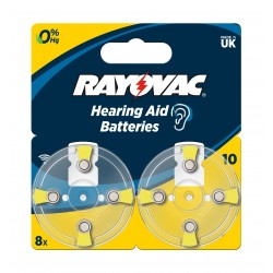 Rayovac 8Pcs Hearing Aid Batteries