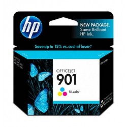 HP Ink 901T for Inkjet Printing 360 Page Yield - CMY (Tri Pack)