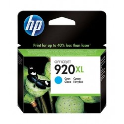 HP Ink 920XL Cyan Blue Ink