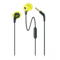 JBL Enure Run In Ear Wired Sweatproof Earphone - Yellow