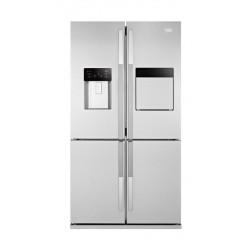 Beko 21 Cft. 4 Door Refrigerator (GNE134601X) – Stainless Steel