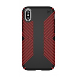 Speck Presidio Grip Case For iPhone XR - Red