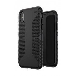Speck Presidio Grip Case For iPhone X - Black