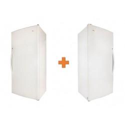 Wansa 19 Cft. Single Door Refrigerator + Wansa 19 CFT Upright Freezer