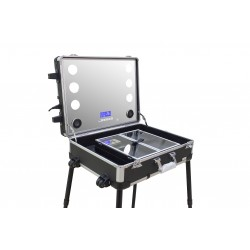 Masters Profession Make-Up Portable Station Black With Trolley Option (PB7080)