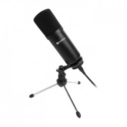 Sandberg Streamer USB Desk Microphone in Kuwait | Buy Online – Xcite