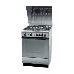 Indesit 60x60 cm 4-Burner Free Standing Gas Cooker (I6TG1G(X)GH/EX)