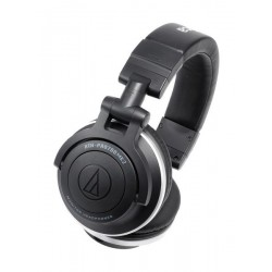 Audio-Technica ATH-PRO500MK2BK Professional DJ Monitor Wireless Headphones - Black
