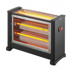 Wansa Radiant 2400W 3Lamps Electric Halogen Heater - AE-4002