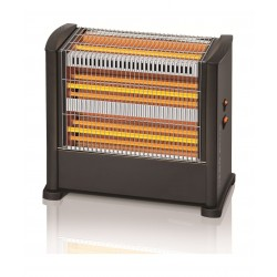 Bravo 1650 Watts Nero Halogen Quartz Heater - AE-4003