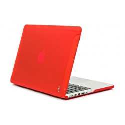 Aiino Protective Matte Cover for Macbook Pro Retina 15.4inch (AIMBR15M) - Red