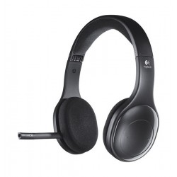 Logitech H800 Bluetooth Wireless Headset with Mic- Black