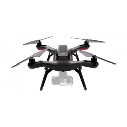 3DR Solo Drone Quadcopter without 3-Axis Gimball - Black