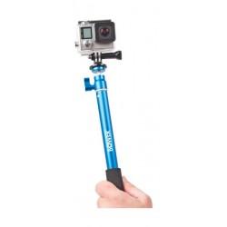 Bower Xtreme Action Series Wireless Shutter Selfie Stick - Blue (XAS-BTM400)